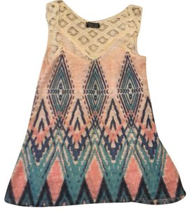 Papermoon Top pink/multi