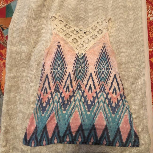 Papermoon Top pink/multi Image 1