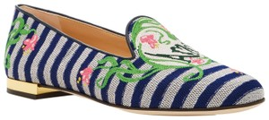 Charlotte Olympia Paris Love Amor Amour Valentine multi-color Flats
