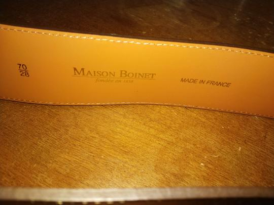 Maison Boinet Sz 70/28 new Maison Boinet made in France golden belt Image 3