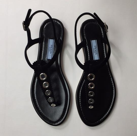 Prada Black Sandals Image 1