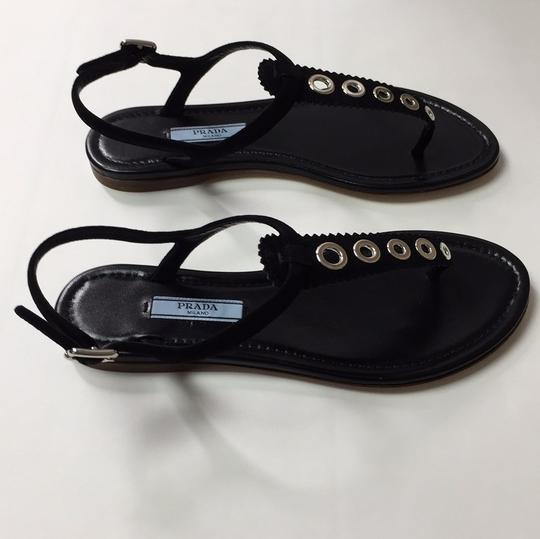 Prada Black Sandals Image 4