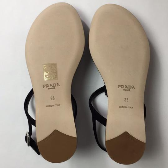 Prada Black Sandals Image 6