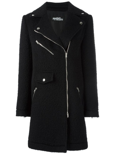 Jeremy Scott Wool Pea Coat Image 1