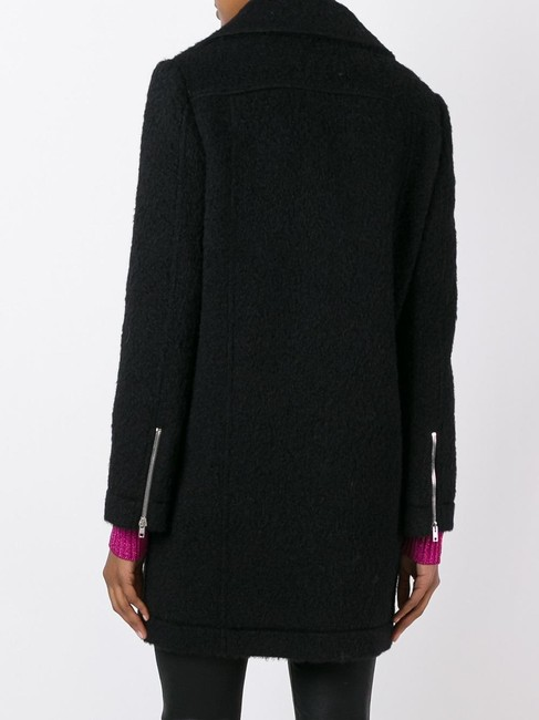 Jeremy Scott Wool Pea Coat Image 3