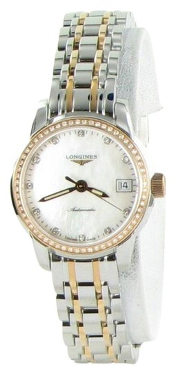 Preload https://img-static.tradesy.com/item/23406486/longines-diamond-bezel-dial-18k-gold-l22635877-saint-imier-steel-26mm-ladies-watch-0-1-540-540.jpg