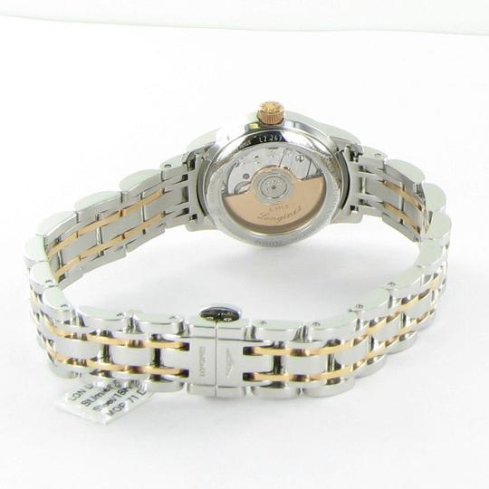 Longines L22635877 Saint Imier Diamond Bezel Dial 18K Gold Steel 26mm Ladies Image 4