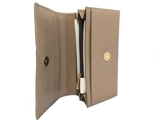 St. John St. John - Leather Compartment Wallet - Taupe Image 1