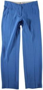 Etro Cropped Trouser Pants Blue