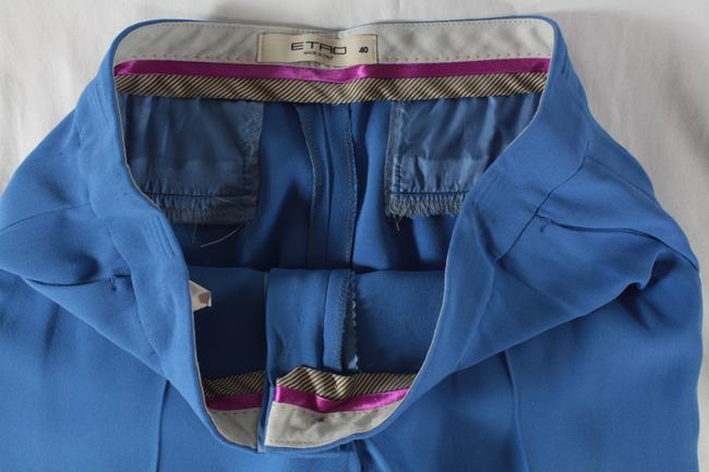 Etro Cropped Trouser Pants Blue Image 5