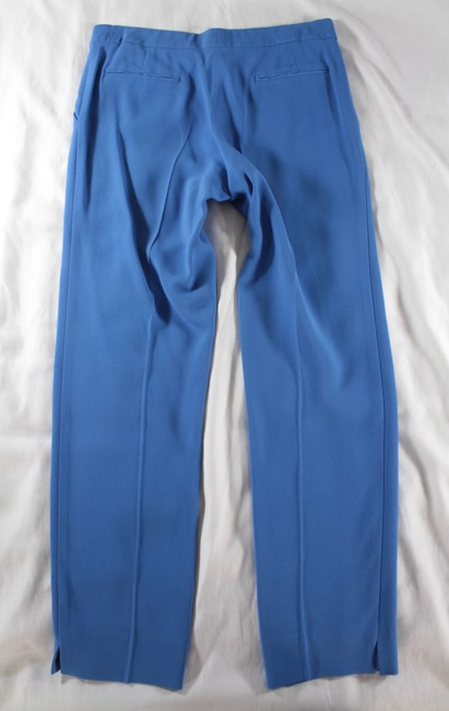 Etro Cropped Trouser Pants Blue Image 8