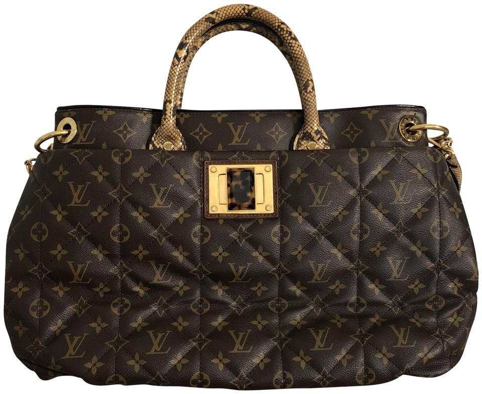 Louis Vuitton Etoile Limited Edition Gm Monogram Canvas Python ... 9ee827be1cee9