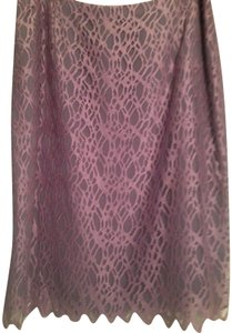 Kay Unger Skirt Lavender/purple