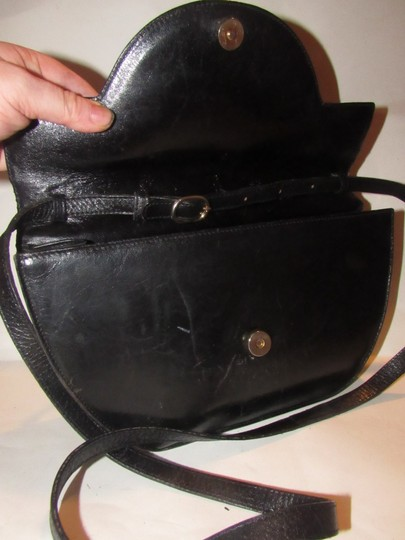 Bally Shoulder/Cross Body Mint Vintage Rare Early Two-way Style Avant Garde Look Satchel in buttery black leather Image 2