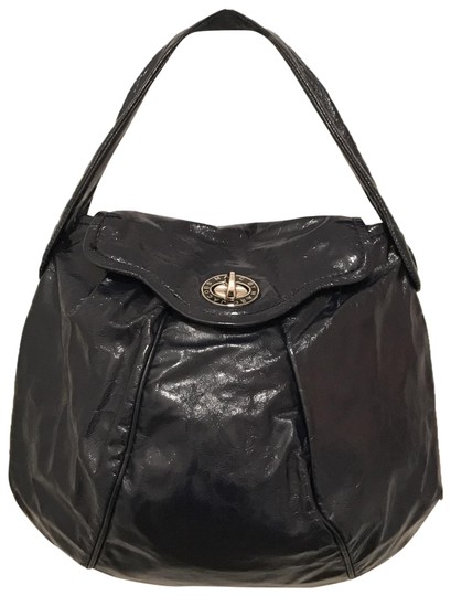 Preload https://img-static.tradesy.com/item/23407181/marc-by-marc-jacobs-posh-turnlock-navy-blue-silver-patent-leather-hobo-bag-0-1-540-540.jpg