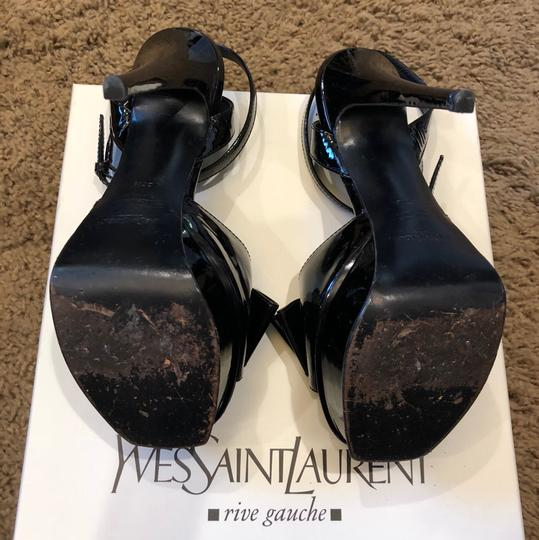 Saint Laurent Black Platforms Image 3