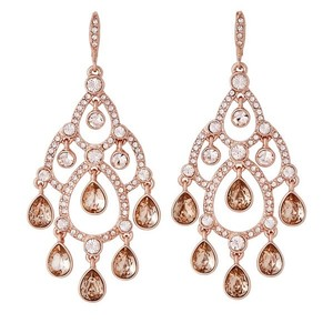 Givenchy Rose Gold-Tone Accented Earrings
