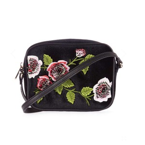 Topshop Embroidered Floral Embroidery Anthropologie Freepeople Boho Cross Body Bag