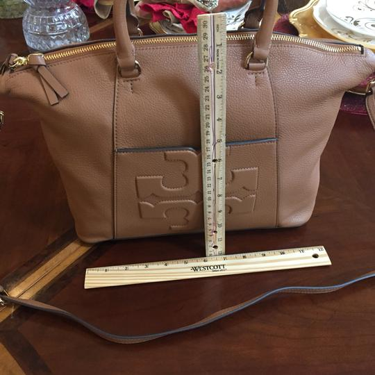 Tory Burch Bombe Set Of 2 Oc Leather To School Shoulder Bag Image 5