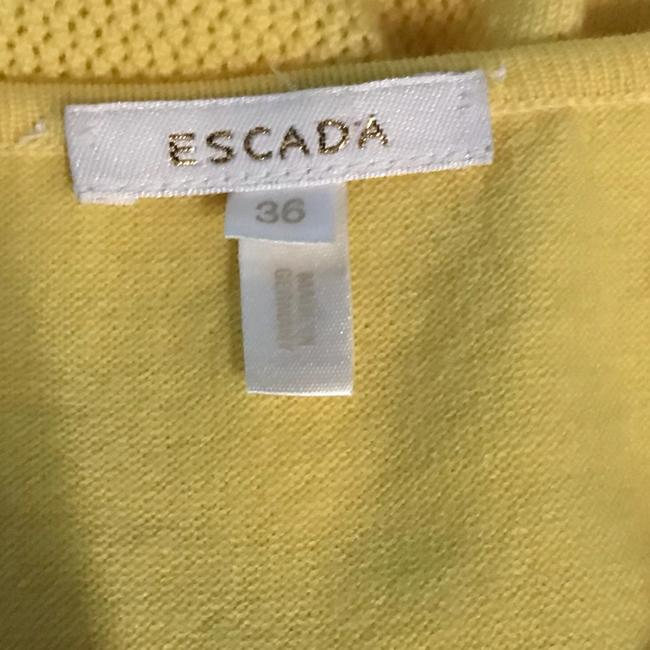 Escada Top Yellow Image 4
