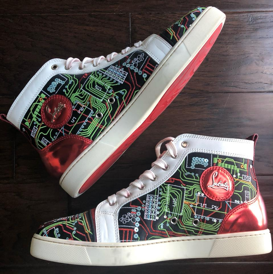 competitive price afa5d 4f354 Christian Louboutin Multicolor Mens Geek Squad Sneaker Flats Size US 12  Regular (M, B) 40% off retail