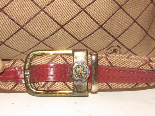 John Romain High-end Bohemian Mint Vintage Classic Equestrian Accents Ox-blood Shoulder Bag Image 10