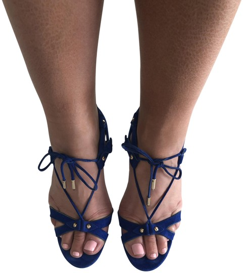 Aquazzura Summer Heels blue Sandals Image 2