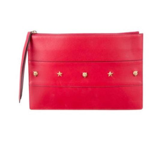 Preload https://img-static.tradesy.com/item/23407504/gucci-animalier-guc163800-red-leather-clutch-0-0-540-540.jpg