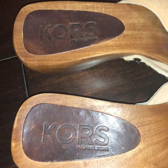 Michael Kors Collection beige Mules Image 1