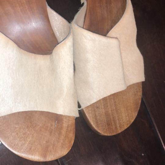 Michael Kors Collection beige Mules Image 2