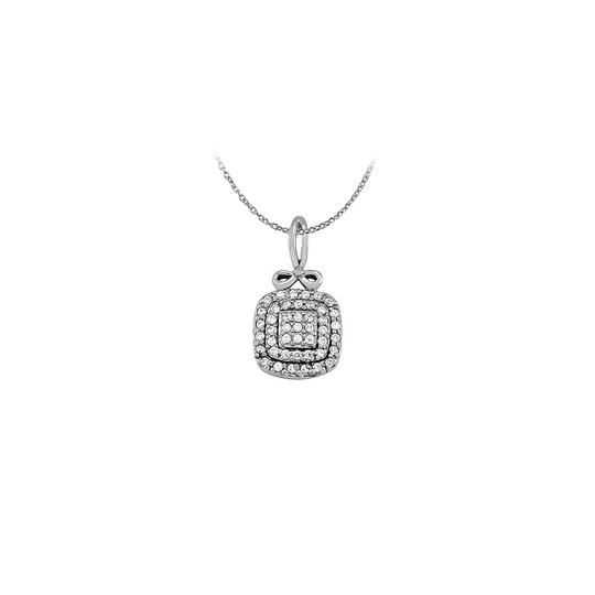 Preload https://img-static.tradesy.com/item/23407639/white-attractive-cubic-zirconia-square-pendant-in-14k-gold-with-free-1-necklace-0-0-540-540.jpg