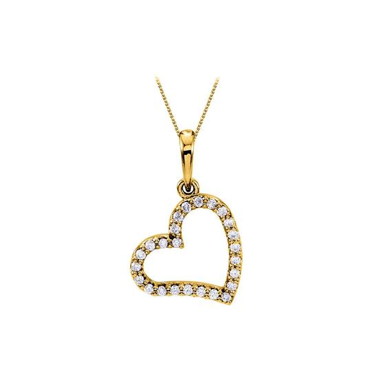 Preload https://img-static.tradesy.com/item/23407651/yellow-yellow-gold-awesome-diamond-heart-pendant-in-14k-with-amazing-design-a-necklace-0-0-540-540.jpg