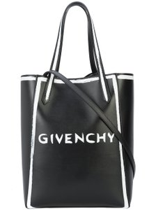 Givenchy Pandora Classic Stargate Logo Tote in black