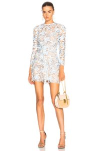 self-portrait Lily Mini Guipure Lace Dress