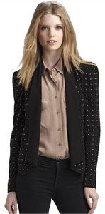 Rebecca Minkoff GORGEOUS Rebecca Minkoff Classic Silk Blazer w Detailing - Size Medium - BRAND NEW WITH TAGS!