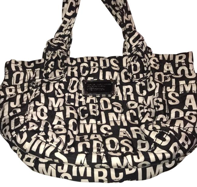 Item - Monogram/ Black and White Nylon Beach Bag