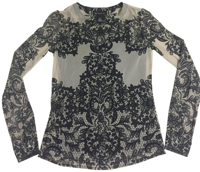 Preload https://img-static.tradesy.com/item/23407892/inc-international-concepts-tan-and-black-lace-cami-blouse-size-2-xs-0-1-650-650.jpg