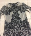 INC International Concepts Lace Cami Top Tan and black Image 4