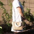 Michael Kors 191262029035 Satchel in Pale Gold Image 1