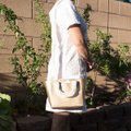 Michael Kors 191262029035 Satchel in Pale Gold Image 2