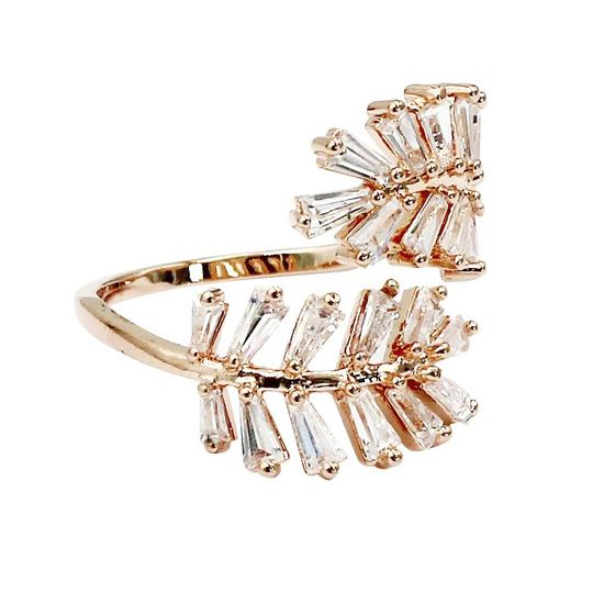 Ocean Fashion Rose gold Fashion Crystal inclusive ring Image 2