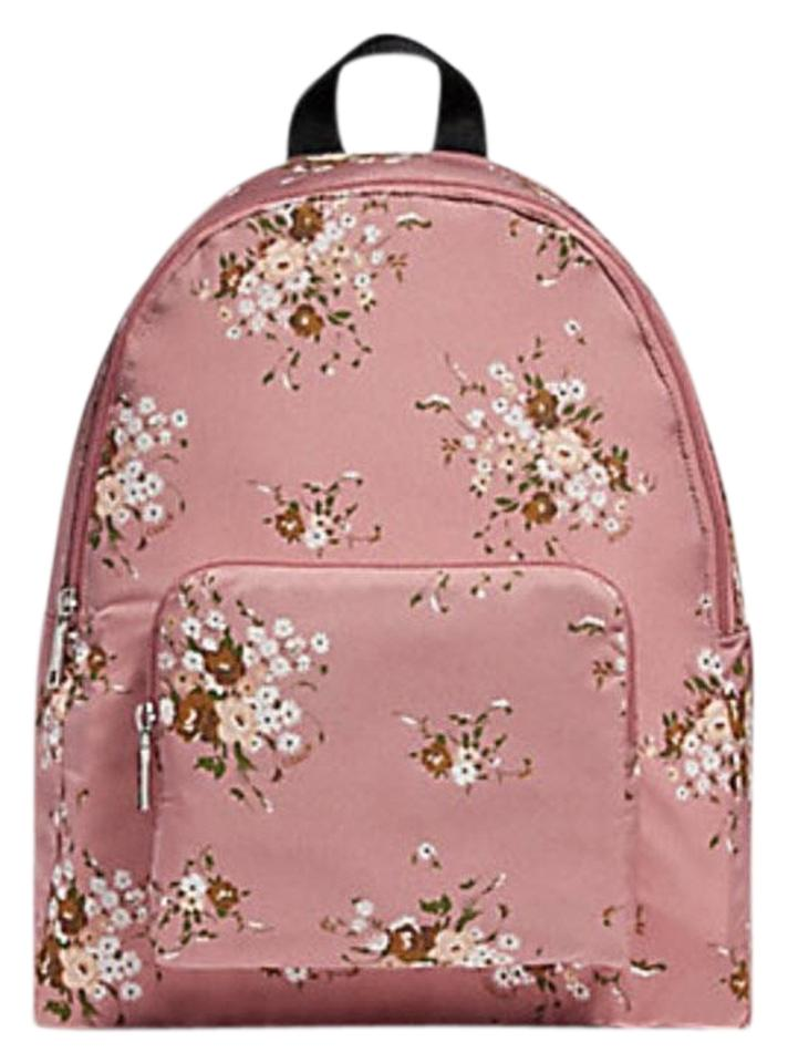 431c049493 Coach Billie Packable with Floral Bundle Print F27977 Multicolor Nylon  Backpack