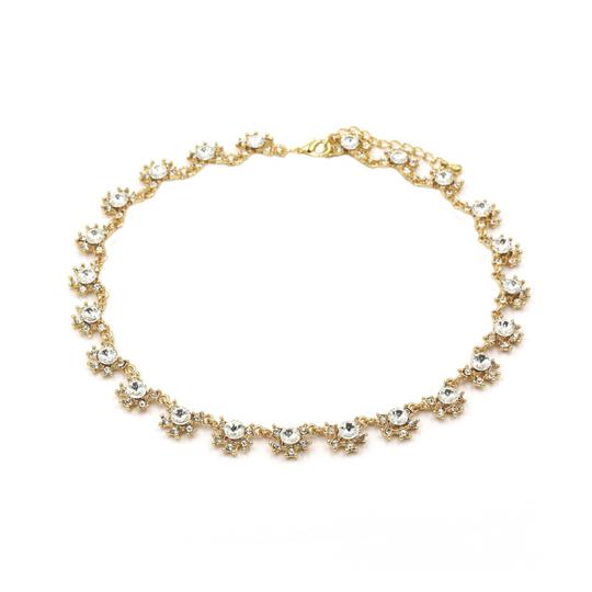 Preload https://img-static.tradesy.com/item/23408057/gold-classic-crystal-flower-necklace-0-0-540-540.jpg