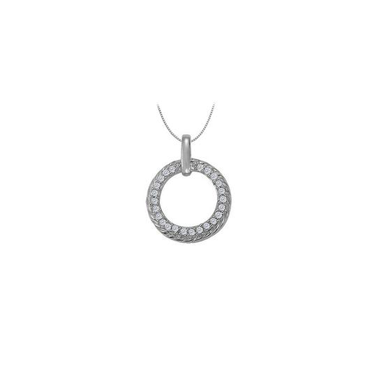 Preload https://img-static.tradesy.com/item/23408193/white-cubic-zirconia-fancy-circle-fashion-pendant-in-14k-gold-025-ct-necklace-0-0-540-540.jpg
