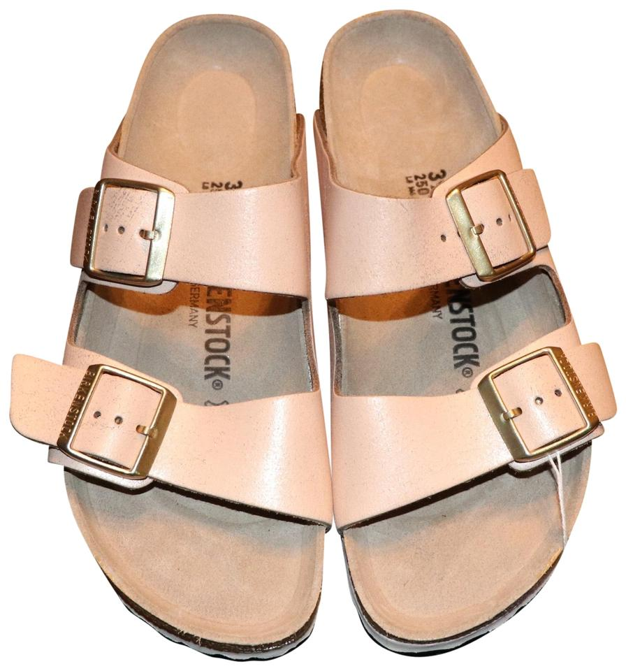 newest collection 43d51 afb5a Birkenstock Washed Metallic Rose Gold Arizona Sandals Size US 8 Regular (M,  B) 34% off retail