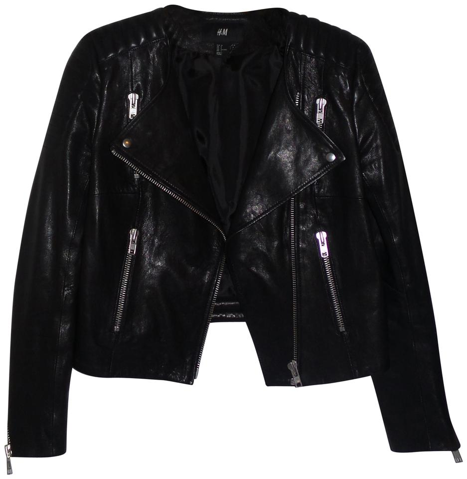 07f00e6491b3 H&M Black Dragon Tattoo Collection Trish Summerville 34 Us Jacket ...