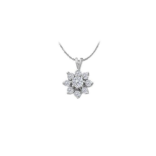 Preload https://img-static.tradesy.com/item/23408217/white-cubic-zirconia-flower-shape-pendant-in-14k-gold-with-a-free-16-i-necklace-0-0-540-540.jpg