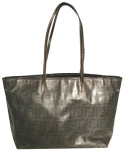 Fendi Roll Spalmati Shopper Shoulder Bag