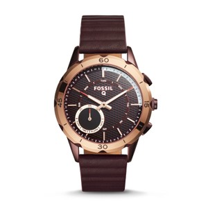 Fossil Fossil Women's Modern Pursuit Wine Silicone Smart Watch FTW1146