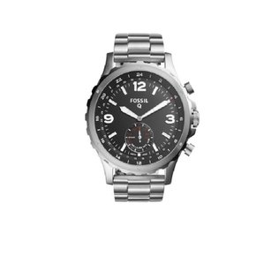 Fossil Fossil Q Men's Grant Stainless Steel Hybrid Smart Watch 44MM FTW1158